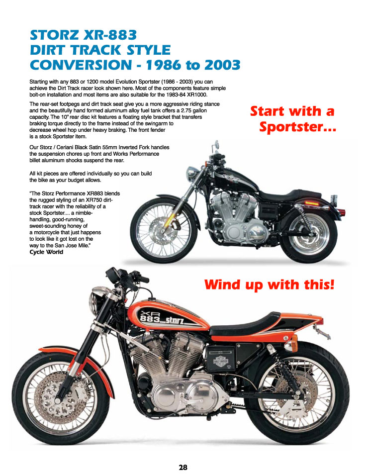 STORZ PERFORMANCE MOTORCYCLE ACCESSORIES